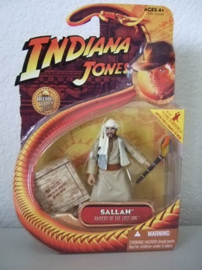 Indiana Jones Raiders Of The Lost Ark - Sallah Kingdom Of The Crystal Skull Action Figure