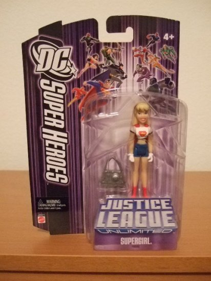 DC SuperHeroes Justice League Unlimited - Supergirl Action Figure