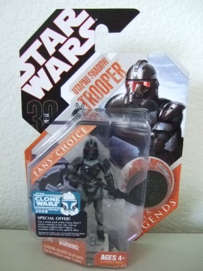 STAR WARS SAGA LEGENDS TAC- COVERT OPS CLONE TROOPER ACTION FIGURE TOY CLONE WARS ROTS