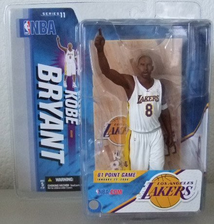 McFarlane Sportspick NBA Series 11 - Kobe Bryant Action Figure LA Lakers