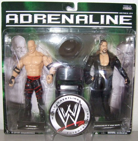 WWE Adrenaline 24 - Kane & Undertaker Action Figure 2-Pack