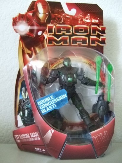 MARVEL IRON MAN MOVIE - TITANIUM MAN ACTION FIGURE