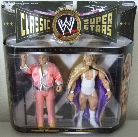 WWE Classic Superstars Limited Edition - Classy Freddie Blassie and Hulk Hogan Action Figure 2-Pack