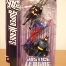 DC SuperHeroes: Justice League Unlimited > Huntress Atom and Batman Action Figure 3-Pack