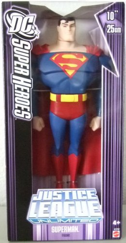 "DC SuperHeroes Justice League - 10"" 10 Inch Superman Action Figure"