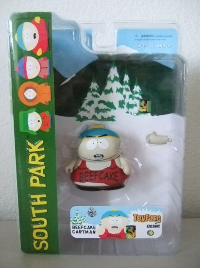 South Park Toyfare Exclusive - Beefcake Cartman Action Figure