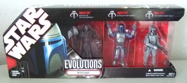 Star Wars 30th Anniversary Evolutions - Fett Legacy Action Figure 3-Pack