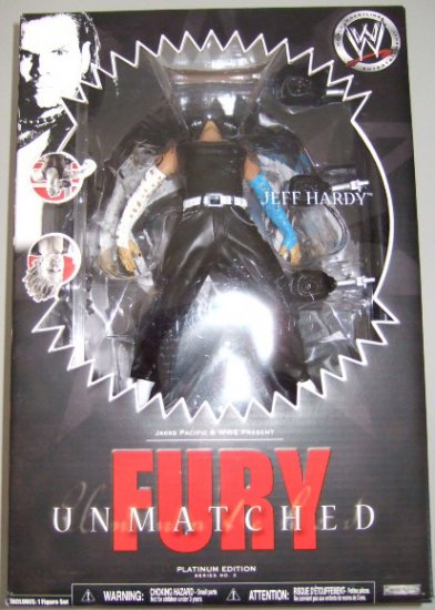 WWE Unmatched Fury Series 3 - Jeff Hardy Action Figure