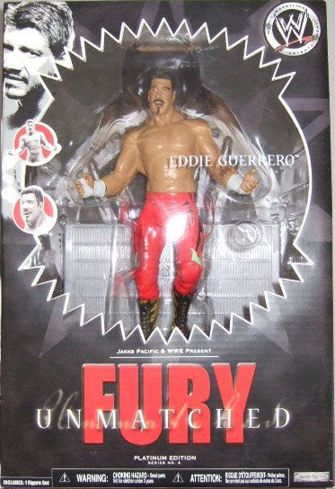 WWE Unmatched Fury Series 6 - Eddie Guerrero Action Figure
