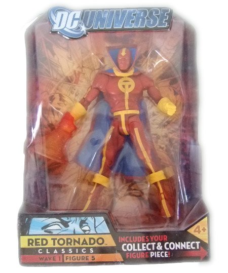 DC UNIVERSE SERIES 1 - RED TORNADO ACTION FIGURE JUSTICE LEAGUE DC COMICS