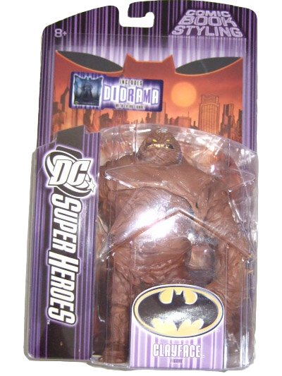 DC SUPERHEROES SERIES 7 - CLAYFACE ACTION FIGURE TOY JUSTICE LEAGUE DC COMICS