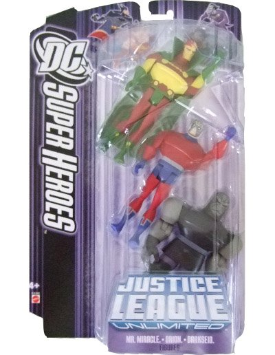 DC SuperHeroes: Justice League Unlimited - Mr. Miracle Orion and Darkseid Action Figure 3-Pack