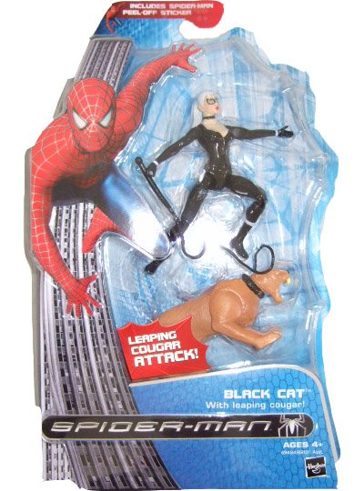 Marvel Spider-Man 3 Movie - Black Cat Action Figure