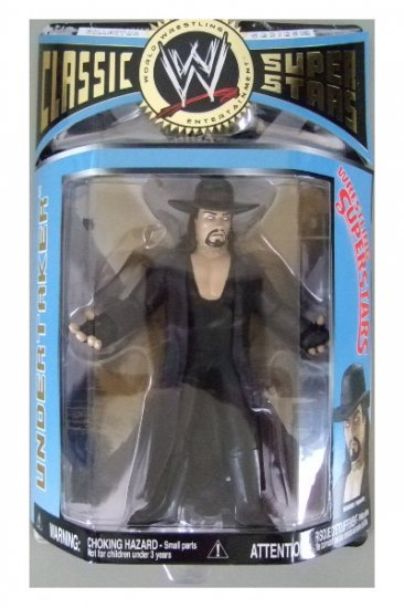 WWE Classic Superstars Series 13 - Undertaker LJN Style Chase Variant Action Figure