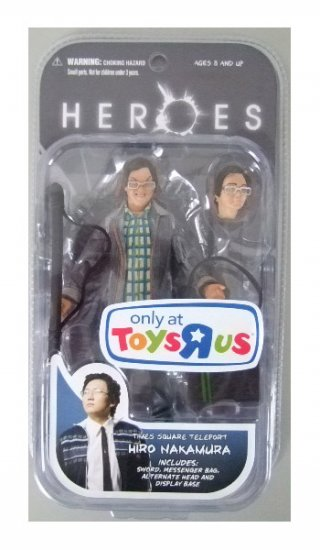 Heroes Series 1 - Hiro Nakamura Times Square Teleport TRU Exclusive Action Figure