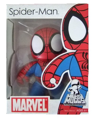 Marvel Mighty Muggs Series 1 - Spider-Man Action Figure