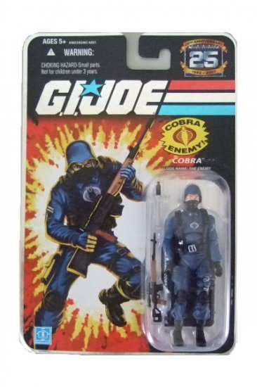 GI Joe 25th Anniversary Wave 2 - Enemy Cobra Trooper Action Figure