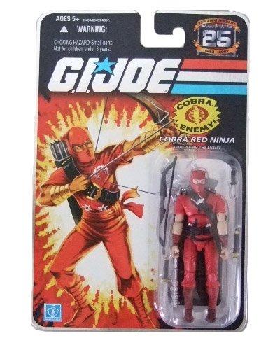 GI Joe 25th Anniversary Wave 3 - Red Ninja Action Figure