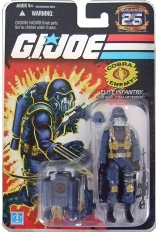 GI Joe 25th Anniversary Wave 4 - Cobra Air Trooper Action Figure