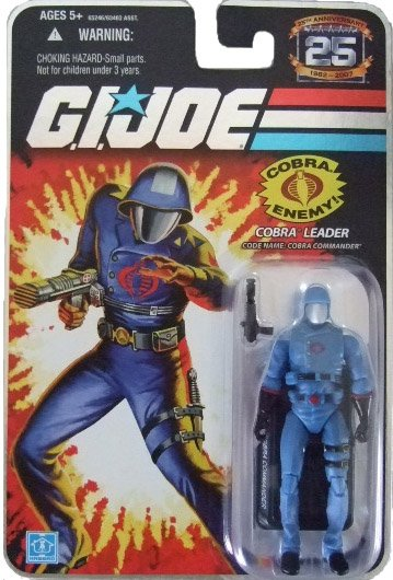 GI Joe 25th Anniversary Wave 4 - Cobra Commander Action Figure