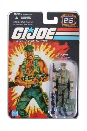 GI Joe 25th Anniversary Wave 4 - Gung-Ho Action Figure