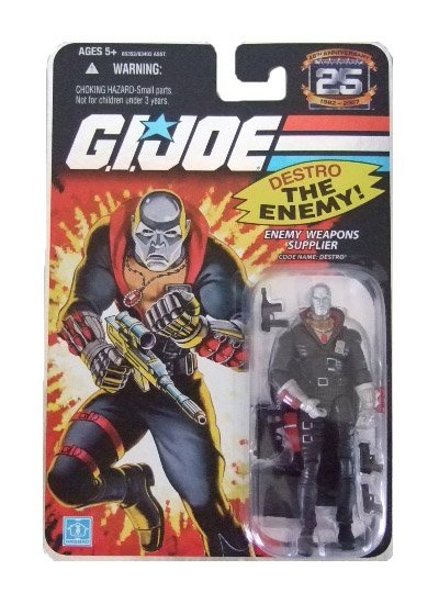 GI Joe 25th Anniversary Wave 4 - Destro Action Figure