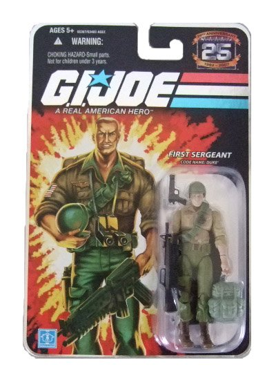 GI Joe 25th Anniversary Wave 4 - Duke Action Figure
