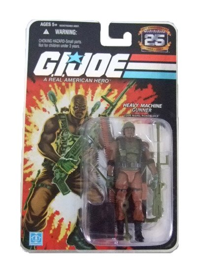 GI Joe 25th Anniversary Wave 4 - Road Block Action Figure