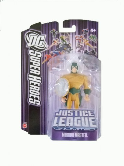 DC SuperHeroes: Justice League Unlimited - Mirror Master Action Figure