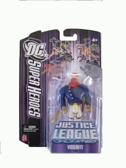 DC SuperHeroes: Justice League Unlimited - Vigilante Action Figure