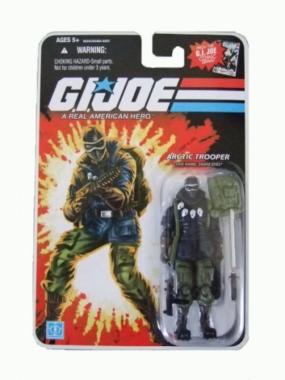 GI Joe 25th Anniversary Wave 8 - Snake Eyes Artic Trooper Action Figure