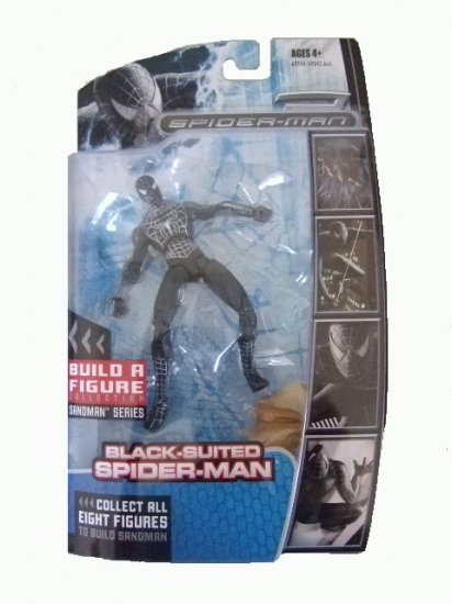 Spider-Man Legends - Black Suited Spider-Man Action Figure