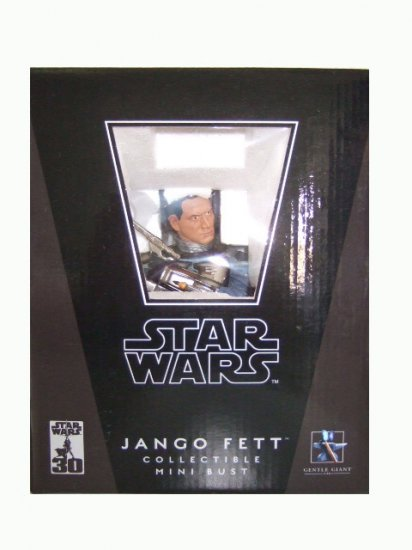 Star Wars Gentle Giant Attack of the Clones - Jango Fett Bust