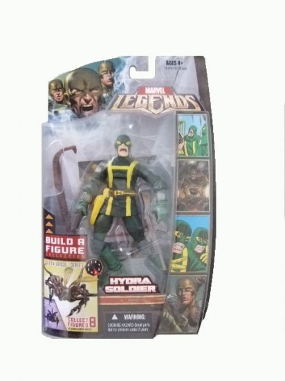 Marvel Legends Series 3 Brood Queen - Hydra Soldier(Yelling Variant) Action Figure