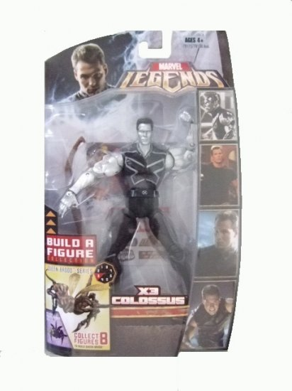 Marvel Legends Series 3 Brood Queen - X3 Colossus Silver Variant Action Figure