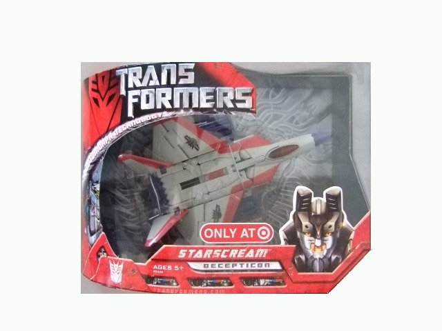 Transformers The Movie Voyager Class - Starscream G1 Paint Deco Action Figure