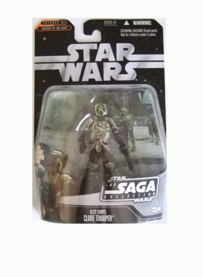 Star Wars Saga Collection Wave 9 - Elite Corps Clone Trooper Action Figure
