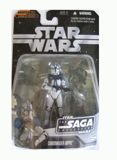 Star Wars Saga Collection Wave 9 - Commander Appo Action Figure