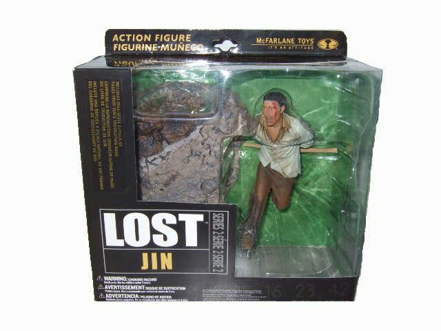 McFarlane LOST Series 2 - Jin Action Figure