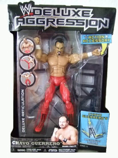 WWE Deluxe Aggression Series 11 - Chavo Guerrero Action Figure