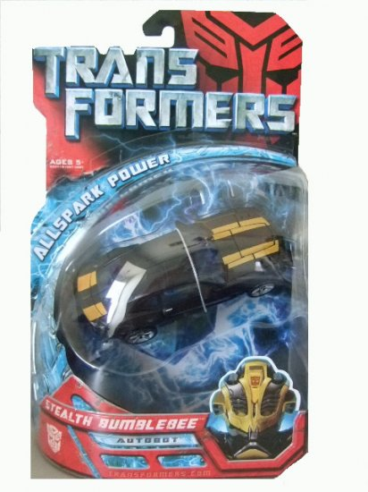 Transformers The Movie Allspark Power Deluxe Class - Stealth Bumblebee Action Figure