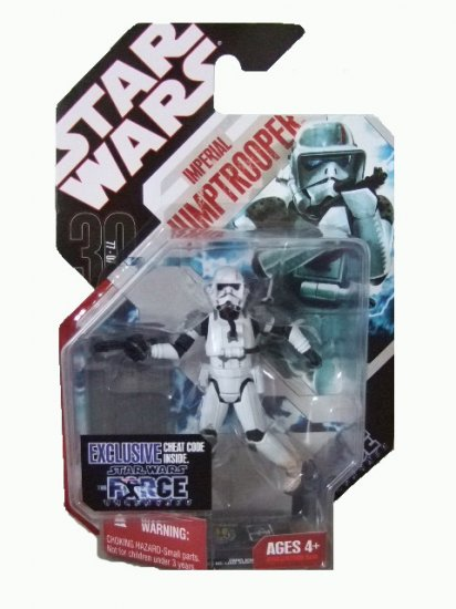 Star Wars 2008 Collection TAC Wave 2 - Imperial Jumptrooper Action Figure Force Unleashed
