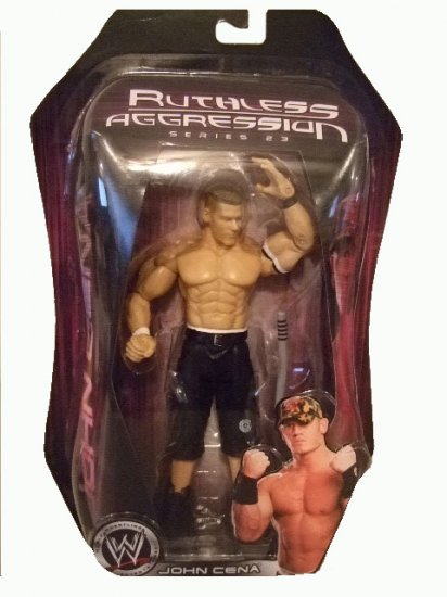 WWE Ruthless Agression Series 23 - John Cena Action Figure