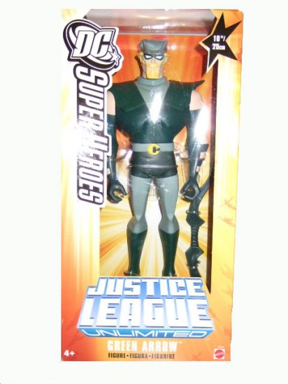 "DC SuperHeroes Justice League - 10"" 10 Inch Green Arrow Action Figure"