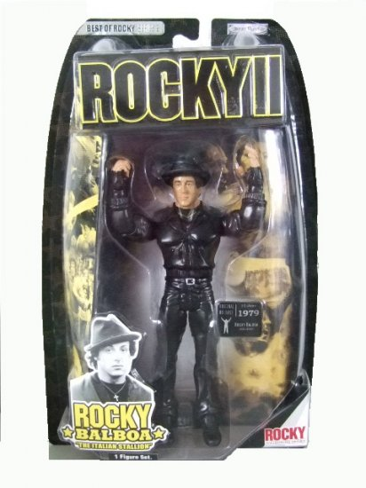 Best Of Rocky Series 2 - Rocky Balboa w/Tiger Jacket Action Figure
