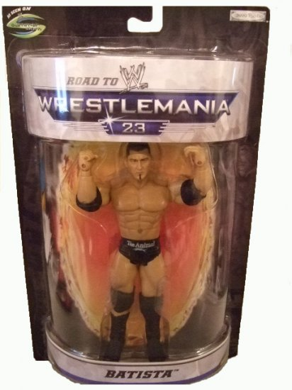 WWE Road To Wrestlemania 23 - Batista The Animal Action Figure