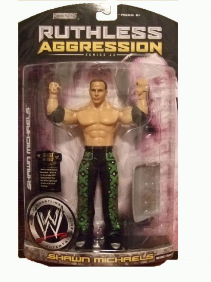 WWE Ruthless Aggression Series 25 - Shawn Michaels Action Figure DX