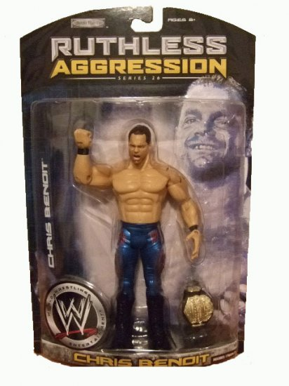 WWE Ruthless Aggression 26 - Chris Benoit Rabid Wolverine Action Figure