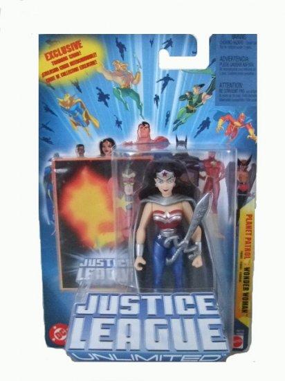 Justice League Unlimited - Planet Patrol Wonder Woman Action Figure DC Comics