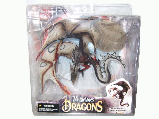 McFarlane Dragons Clan Series 4 - Fire Dragon Action Figure